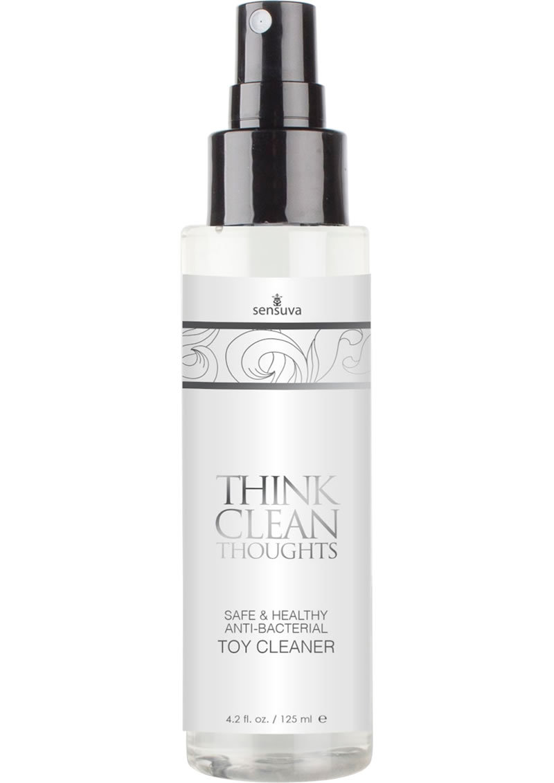 Think Clean Thoughts Anti-bacterial Toy Clearner 4.2oz Spray